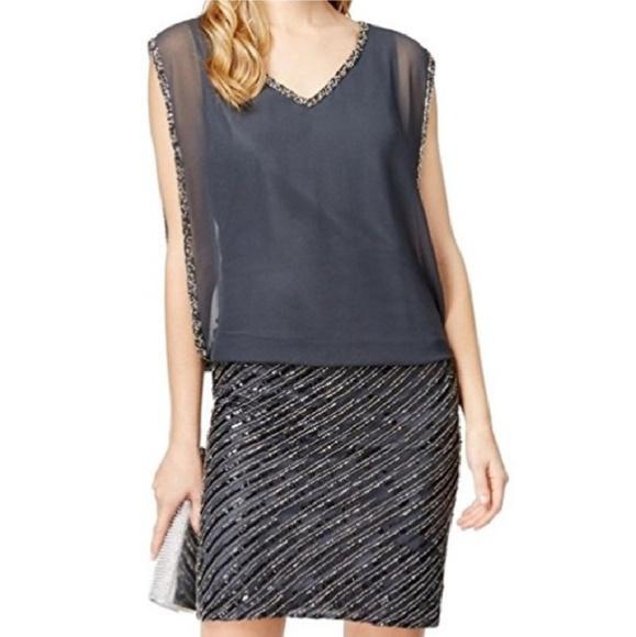 c26db8f85989 J Kara Dresses | Nwt Formal Beaded Chiffon Handmade Dress | Poshmark